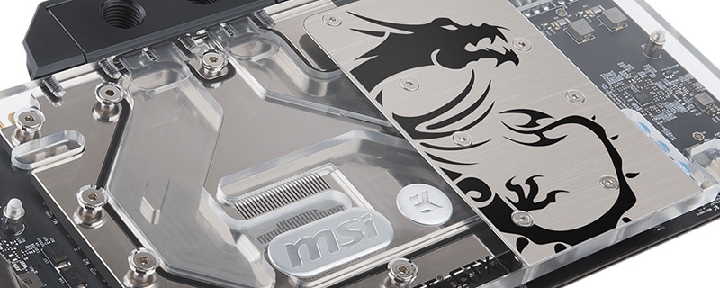 MSI announce their GTX 1080 Ti SEA HAWK EK X GPU