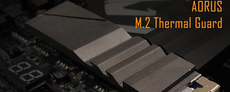 Gigabyte teases their Aorus M.2 Thermal guard