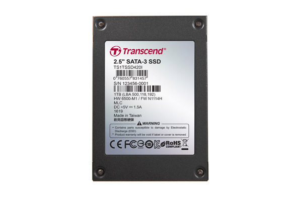 Transcend announce their SSD430 Solid State Drive