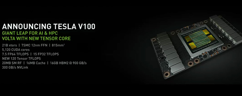 Nvidia announce their Volta-based Tesla V100 GPU