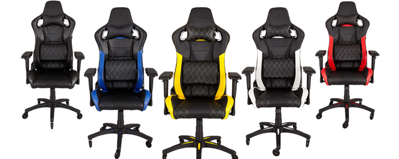 Corsair announce their T1 series Gaming chair