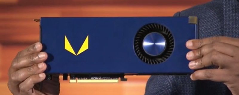 AMD showcase their Vega Frontier Edition GPU