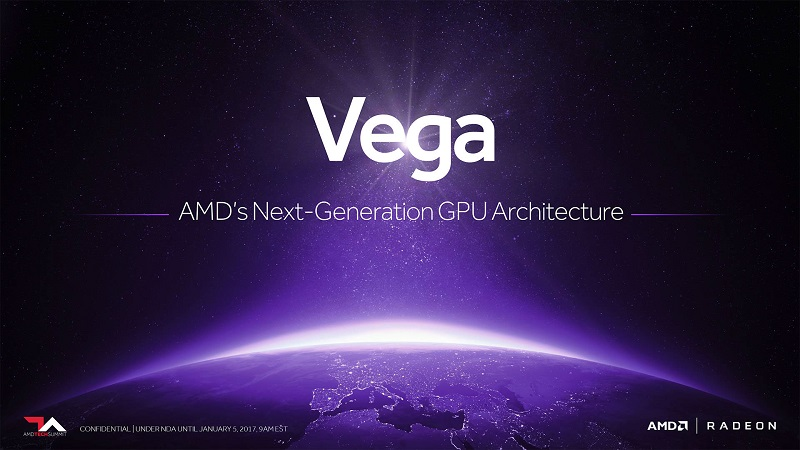 AMD confirms that the RX Vega will be showcased at Computex