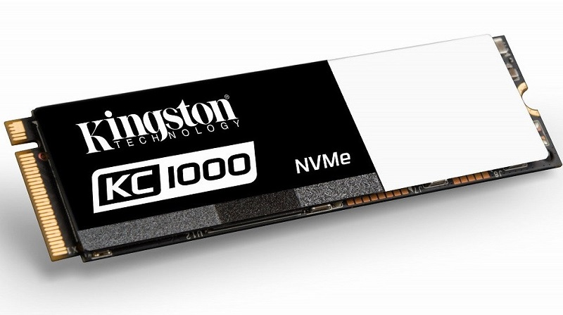 Kingston unleash their new SSDNow KC1000 line of M.2 NVMe SSDs