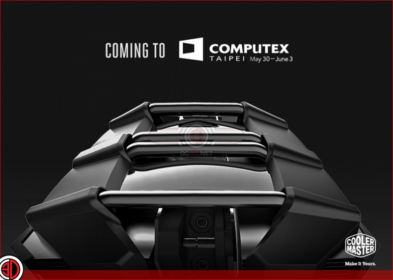 Cooler Master gives a sneak peak at their Computex 2017 lineup