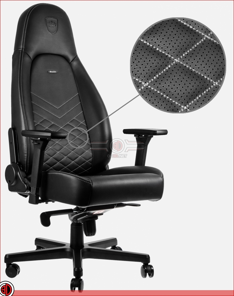 Noblechairs release their new ICONIC series