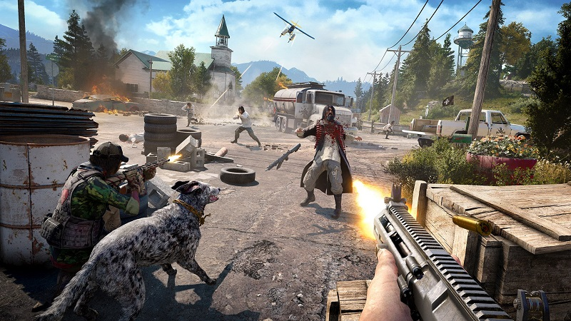Far Cry 5 will support 2-player Co-op campaign mode