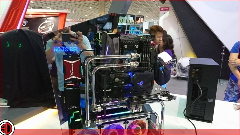 ASUS' Crosshair VI Extreme has been pictured at Computex 2017
