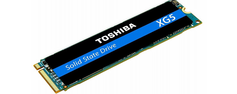 Toshiba reveals their XG 5 series  of M.2 NVMe SSDs