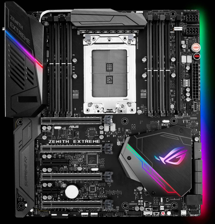 ASUS announce ROG X399 Zenith Extreme Threadripper motherboard
