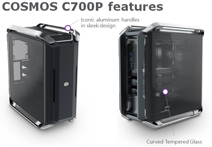 Cooler Master announce their C700P and H500P cases