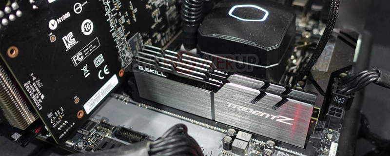 G.Skill showcase 4000MHz+ Trident Z memory at Computex
