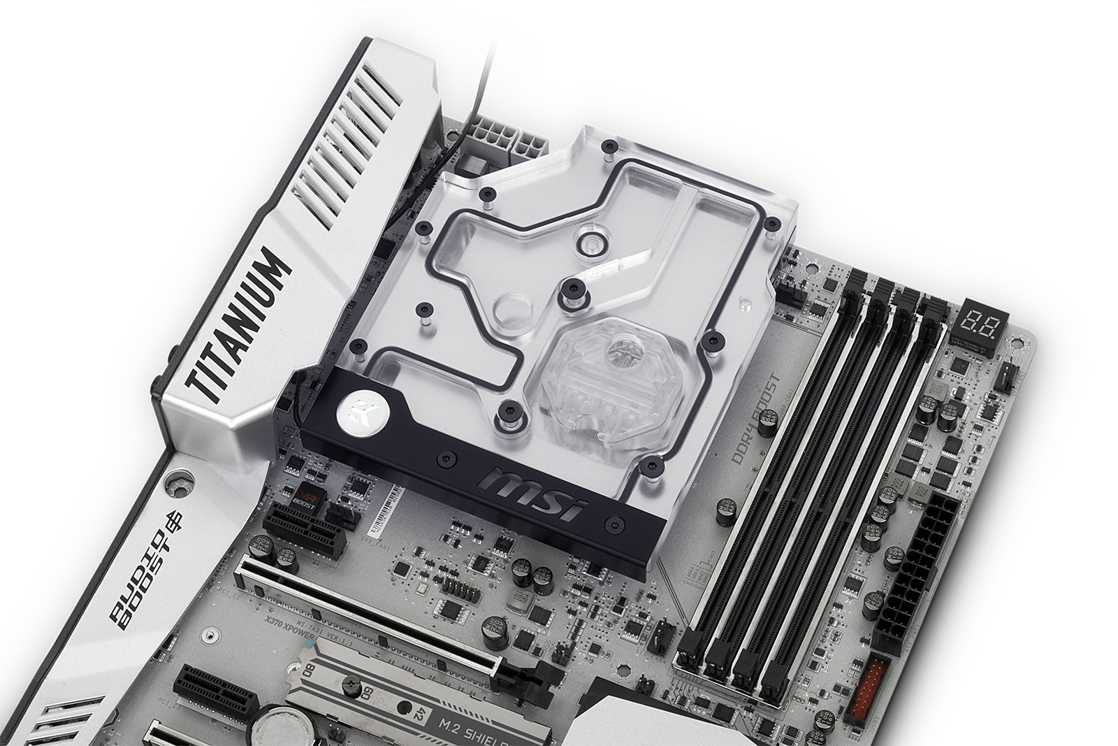 EK announce their new AM4 monoblock for MSI's X370 XPOWER motherboard