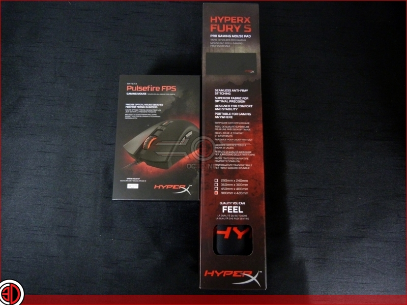 Kingston Pulsefire FPS Mouse and Fury S Pad Review