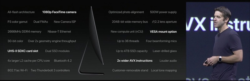 Apple announced their Vega powered iMac Pro