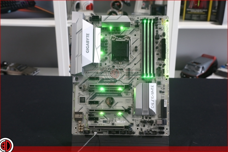 Gigabyte Z270X Designare Preview