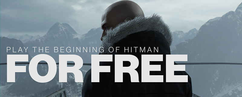 You can not play the beginning Hitman for free