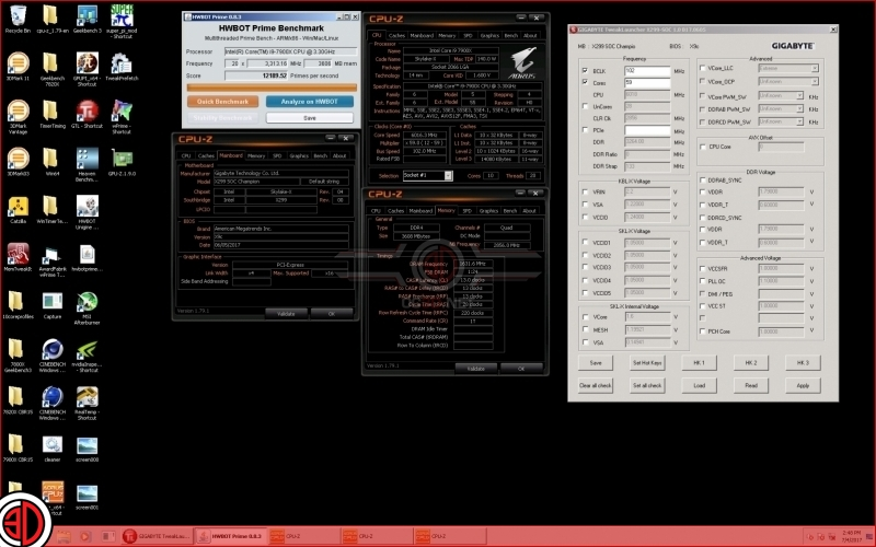 Intel's i9 7900X has been overclocked to 6.01GHz - a new world record