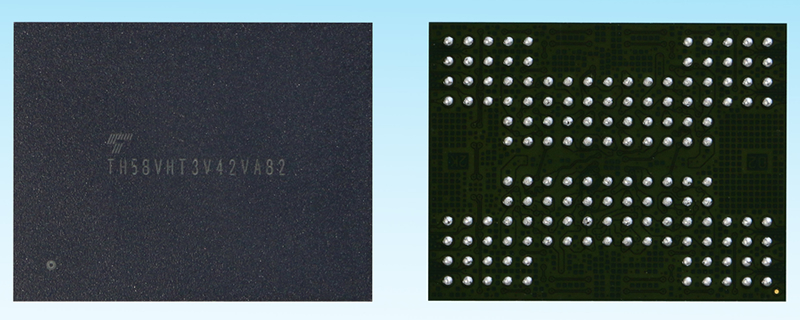 Toshiba creates their world's first 3D Flash technology with TSV technology
