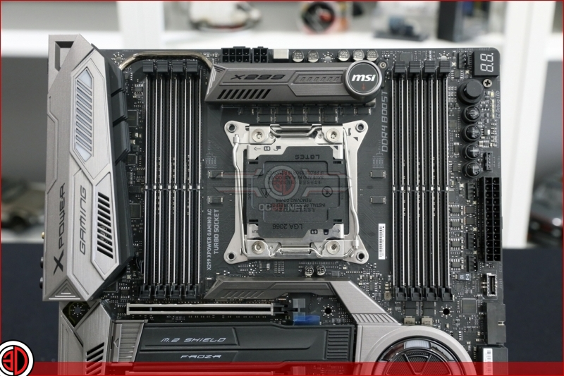 MSI X299 XPOWER Gaming AC Preview