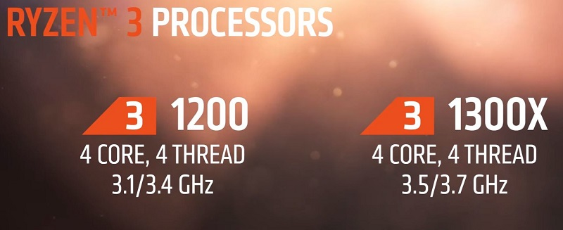 AMD reveals Ryzen 3's release date and specifications