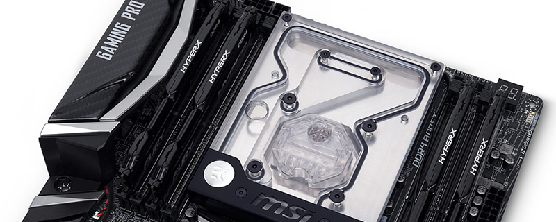 EK releases their new MSI X299 Gaming Pro Monoblock