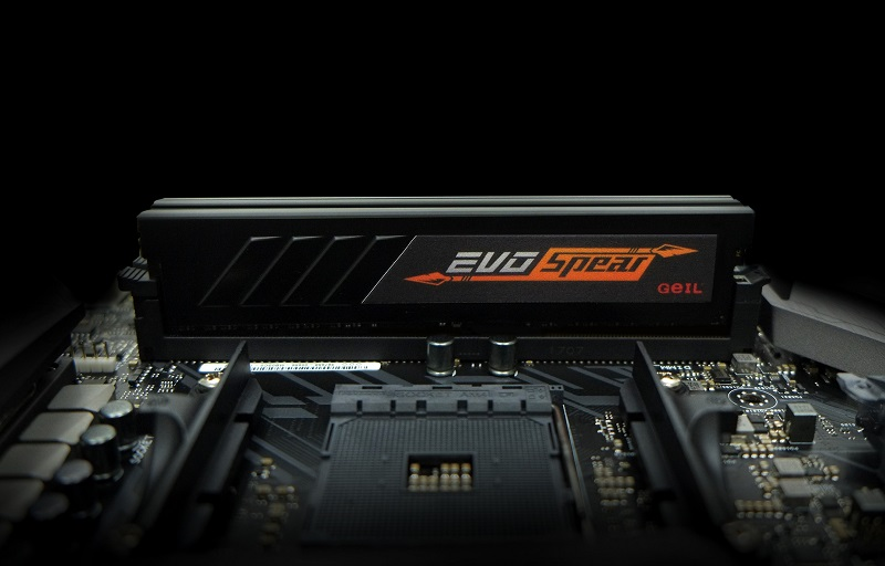 GEIL announces their new EVO Spear series DDR4 memory