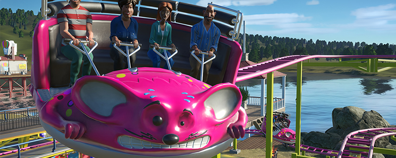 Planet Coaster Patch 1.3.3 brings both free and paid content to the game
