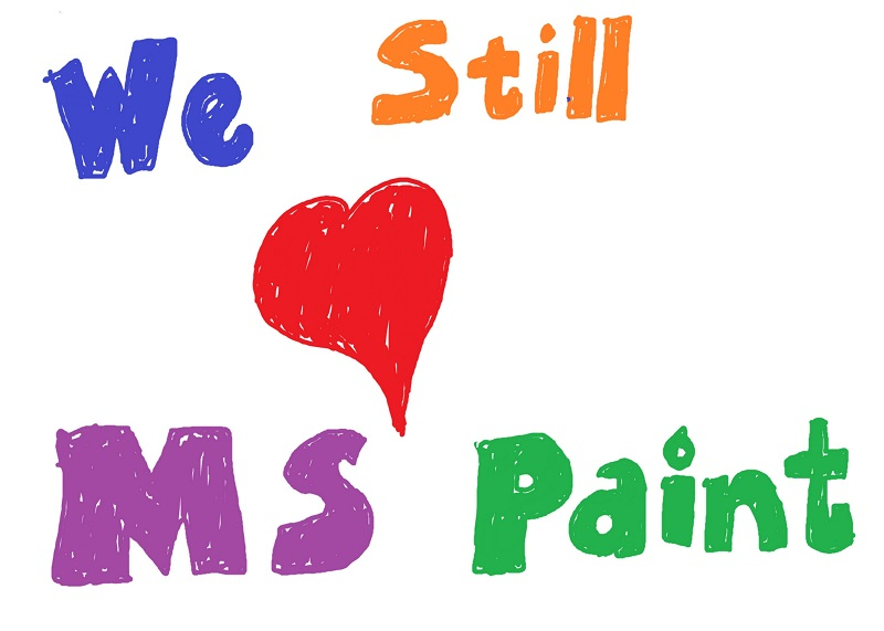 Microsoft Paint is not going anywhere