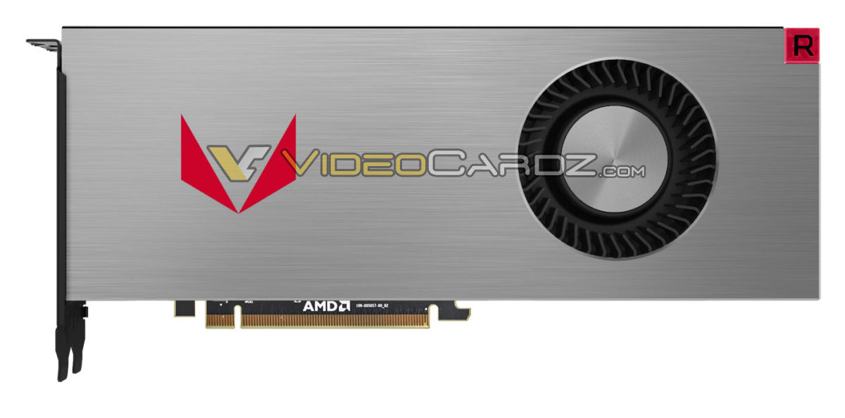 Official images of AMD's RX Vega series GPUs have leaked