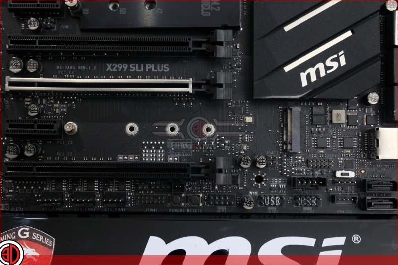 MSI X299 SLI Plus Preview