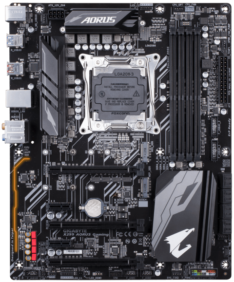 Gigabyte launches a Kaby Lake-X only X299 motherboard