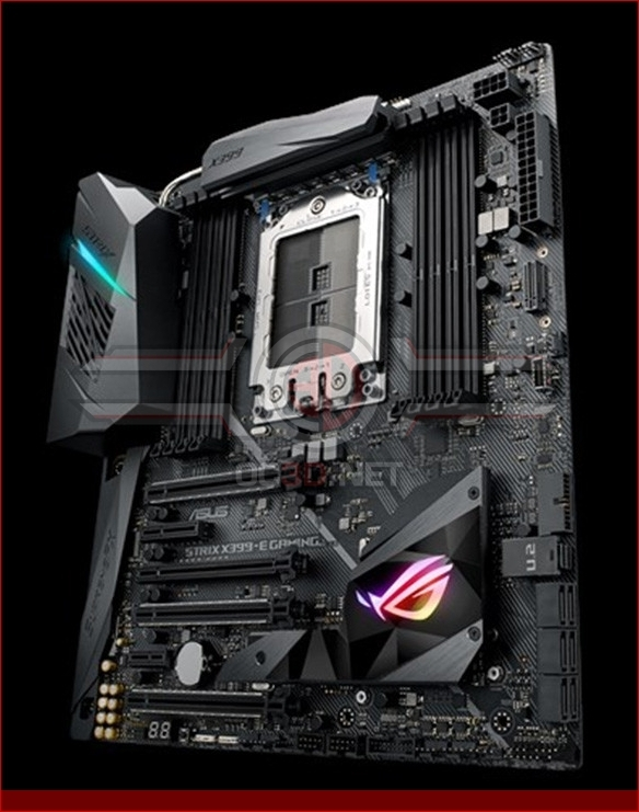 ASUS officially unveils their Threadripper X399 Strix-E motherboard