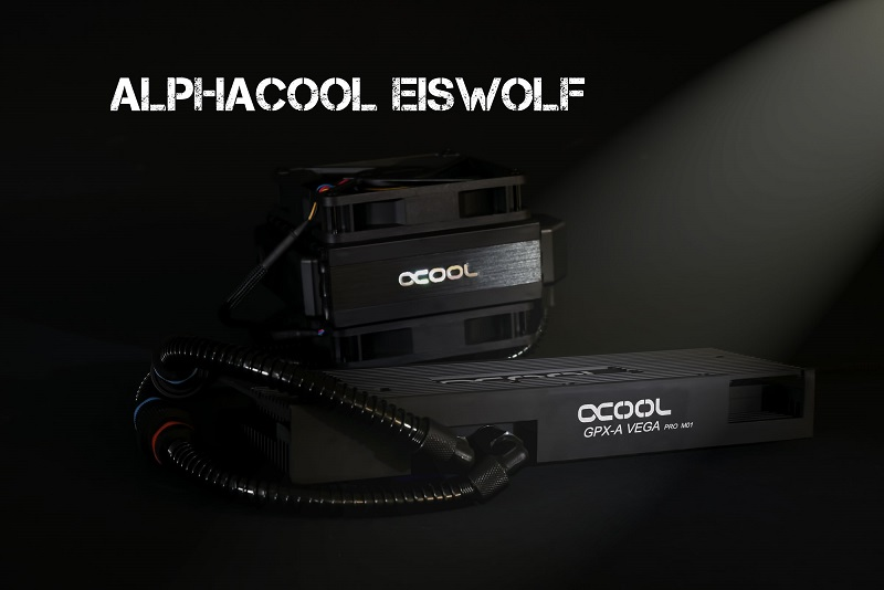 Alphacool releases their Eiswolf GPX-Por and NexXxoS GPX water coolers for AMD's RX Vega
