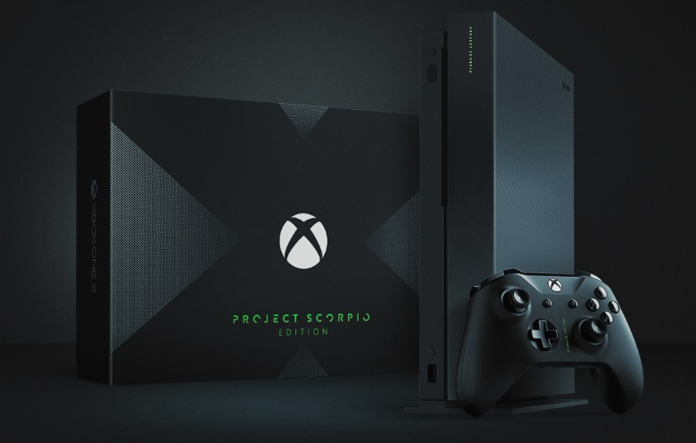 Microsoft's Xbox One X console is now available to Pre-order