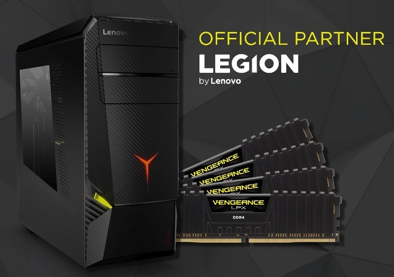 Corsair becomes Lenovo's exclusive memory partner for gaming PCs