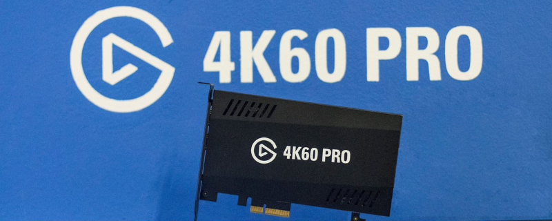 Elgato reveals their new 4K60 Pro capture card