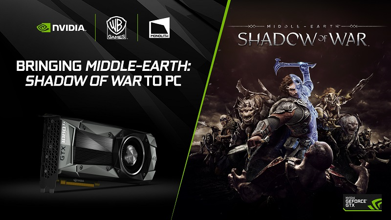 Nvidia reveals that Destiny 2 and Shadow of War will support SLI and HDR on PC
