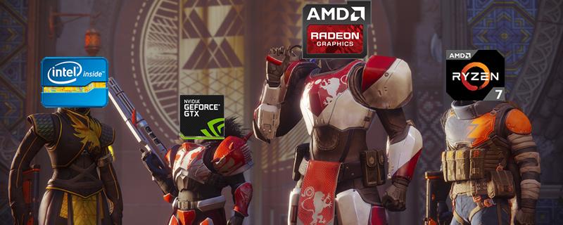 Destiny 2 PC Performance Review | AMD VS Nvidia - RX 480 VS