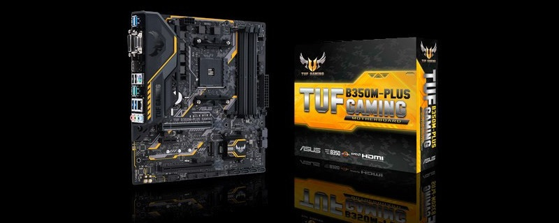 ASUS reveals their B350M- Plus TUG Gaming Motherboard