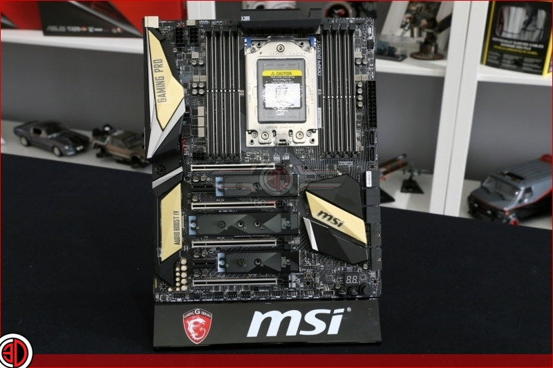 MSI X399 Pro Gaming Carbon AC Review
