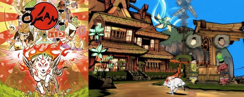 Okami HD will release on PC, Xbox One and PS4 on December 12th