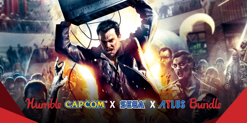 The Humble Capcom Sega Atlus Bundle is now live