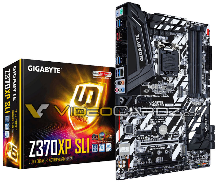 Gigabyte's upcoming Z370XP SLI motherboard has been leaked
