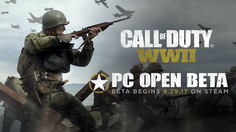 Callof Duty: WWII's PC Multiplayer beta will has been announced