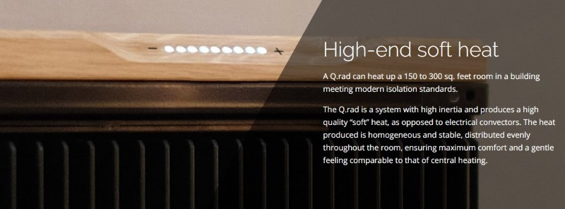 Qarnot plans on using CPUs to create literal space heaters