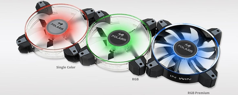 InWin reveals their new RGB series of case fans