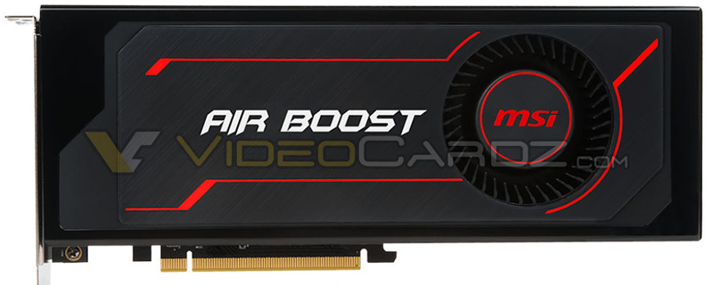 Images of MSI's semi-custom RX Vega 64 Air Boost have leaked online