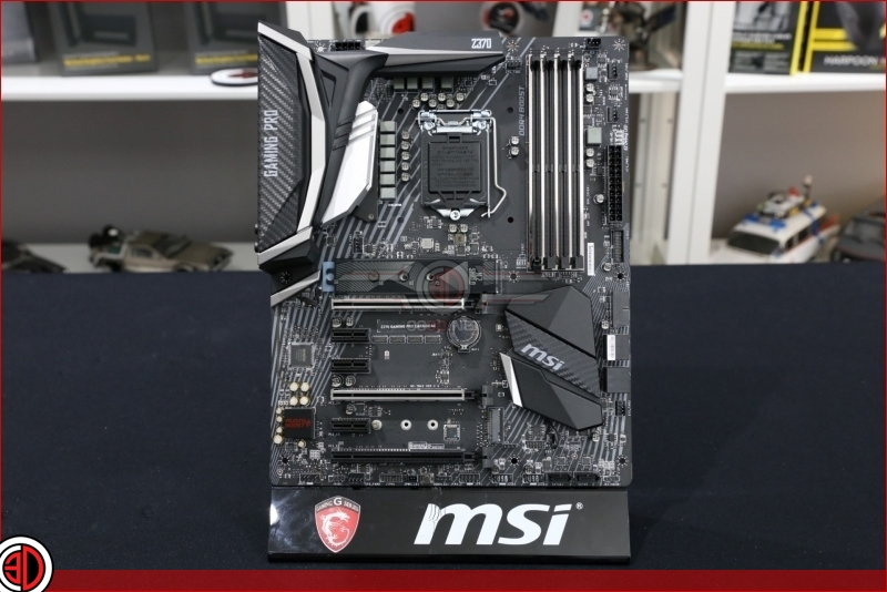 MSI Z370 Gaming Pro Carbon AC motherboard Preview