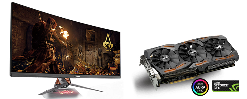 For a limited time select ROG GPUs and displays will come with Assassin's Creed Origins